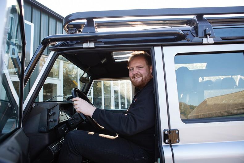 Gedreven door <br/> Land Rover