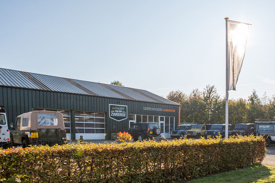 Gedreven door <br/> Land Rover